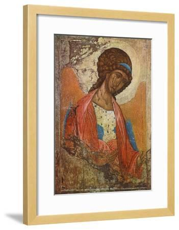 Archangel Michael-Andrei Rubljew-Framed Collectable Print