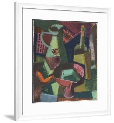 Jug with Red Dish-Hannes Schmucker-Framed Collectable Print
