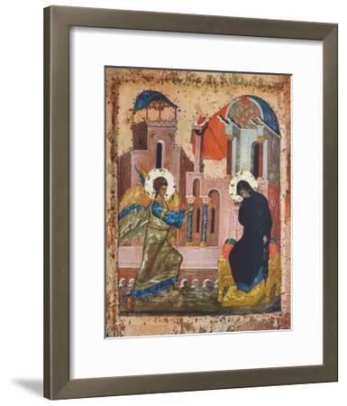 The Annunciation--Framed Collectable Print