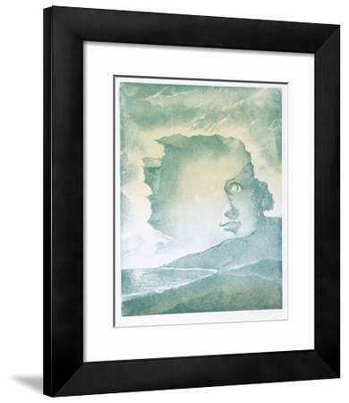 Face in Mountains-Hank Laventhol-Framed Limited Edition