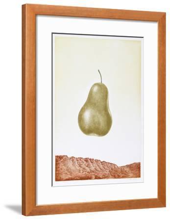 Pear-Hank Laventhol-Framed Limited Edition