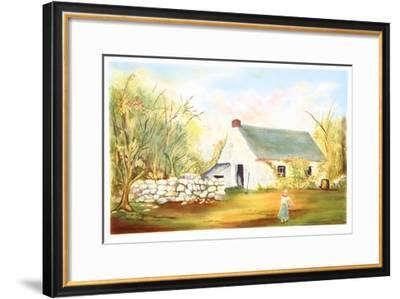 Stone Fence in Norwood Glen- Fioravanti-Framed Limited Edition