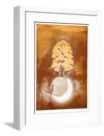 Pheasant and Tree-Hank Laventhol-Framed Limited Edition