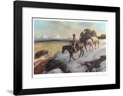 Riding Chuck Line-Duane Bryers-Framed Limited Edition