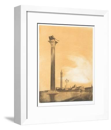 Terrace-Hank Laventhol-Framed Limited Edition