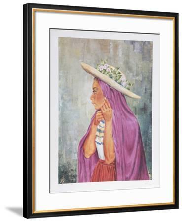 Ballerina Guermin-Vic Herman-Framed Limited Edition