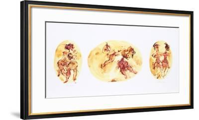 Group of Ballet Dancers-Chaim Gross-Framed Limited Edition