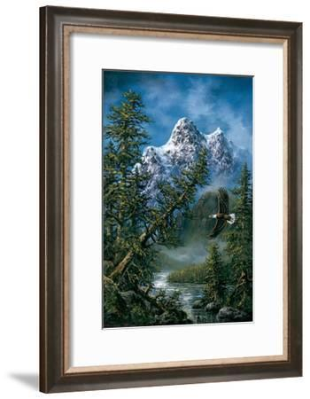 Peaceful Wilderness-Ken Skoda-Framed Art Print