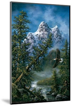 Peaceful Wilderness-Ken Skoda-Mounted Art Print
