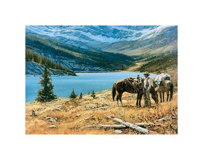 God's Country-Richard Freeman-Framed Art Print