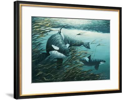 Oceanic Point-Bruce Muir-Framed Art Print