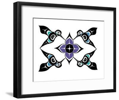 Hummingbirds-Derek Thomas-Framed Giclee Print