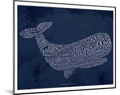 Moby Dick--Mounted Art Print