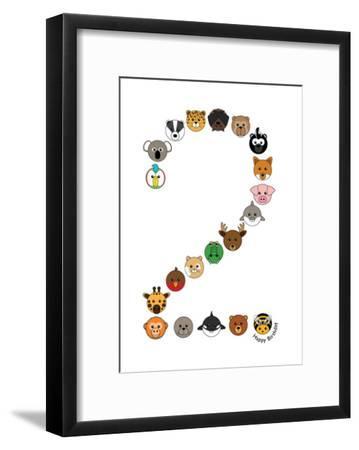 Two--Framed Art Print