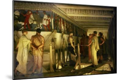 Phidias and the Parthenon Frieze-Sir Lawrence Alma-Tadema-Mounted Giclee Print