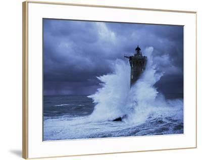 Phare du Four, Bretagne-Jean Guichard-Framed Art Print