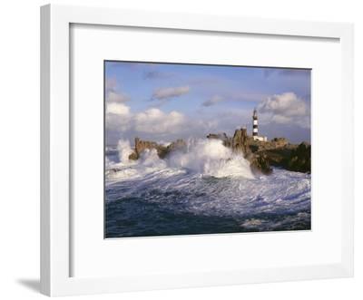 Phare du Creac'h-Jean Guichard-Framed Art Print