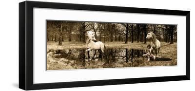 Spirits of the Woods-Marc Moreau-Framed Art Print
