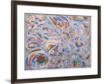 Colori al vento-Nino Mustica-Framed Art Print