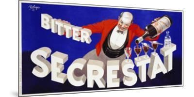 Bitter Secrestat, 1935-Robys (Robert Wolff)-Mounted Art Print