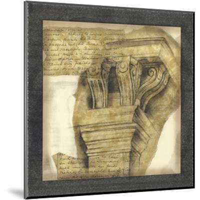 Antique Capitals II-Jennifer Goldberger-Mounted Giclee Print
