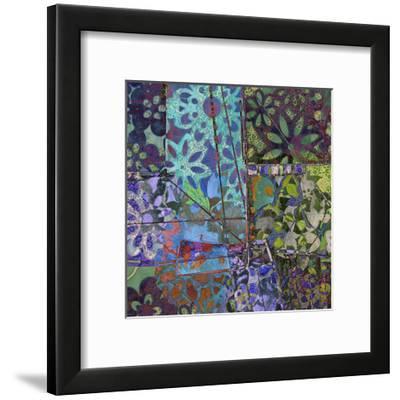 B-Jeweled Deco III-Ricki Mountain-Framed Art Print