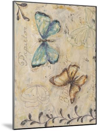 Fluttering Butterflies-Jade Reynolds-Mounted Art Print