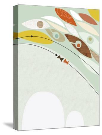 Migration II-Jenn Ski-Stretched Canvas Print