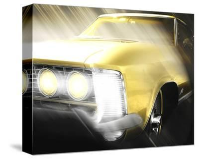 Riviera Encountered-Richard James-Stretched Canvas Print