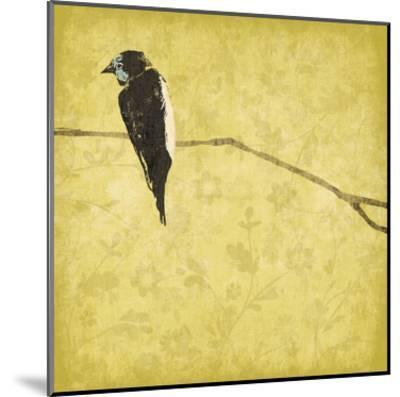 Birds On Branch-Jace Grey-Mounted Art Print