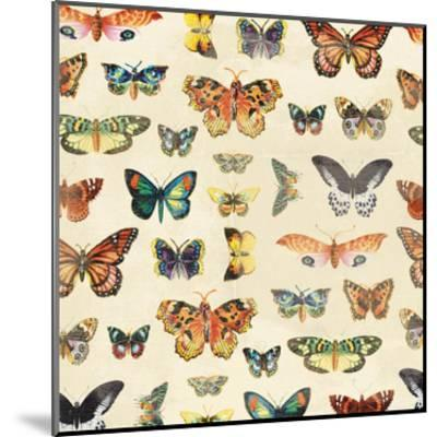 Butterfly-Jace Grey-Mounted Art Print