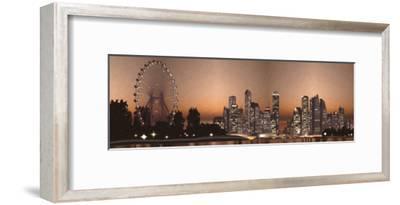 Ferris Wheel-Taylor Greene-Framed Art Print
