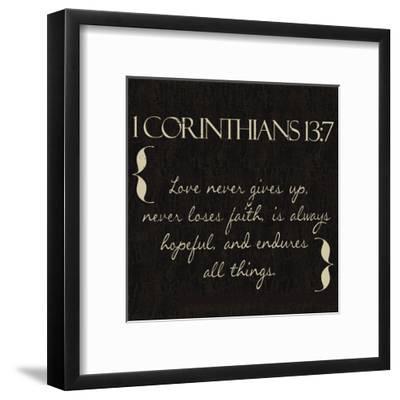 1 Corinthians 13 7 Art Print By Taylor Greene Artcom