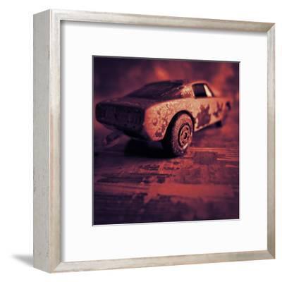 Matchbox Mustang IV-Jean-Fran?ois Dupuis-Framed Art Print