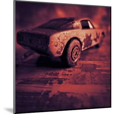 Matchbox Mustang IV-Jean-Fran?ois Dupuis-Mounted Art Print