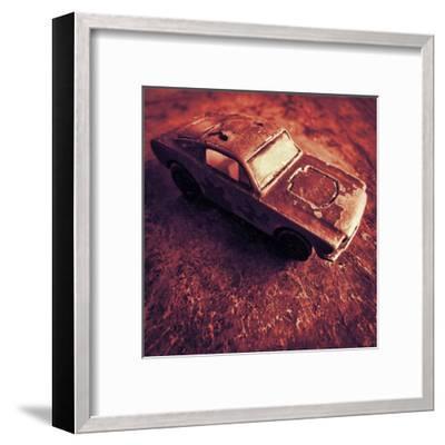 Matchbox Mustang III-Jean-Fran?ois Dupuis-Framed Art Print