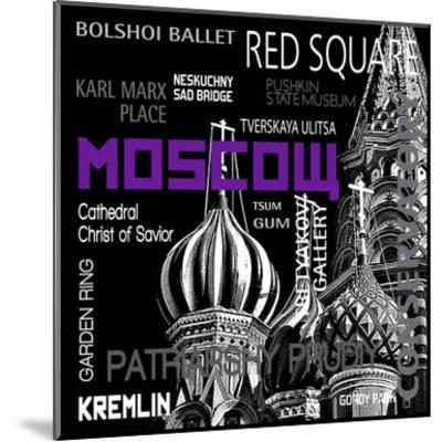 Moscow--Mounted Art Print