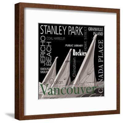 Vancouver--Framed Art Print