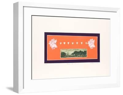 Masion De L'Amour-Mireille Kramer-Framed Limited Edition
