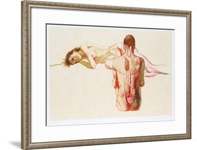 Couple II-Jim Jonson-Framed Limited Edition