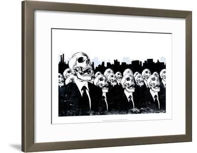 We Live No More-Alex Cherry-Framed Art Print