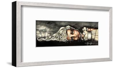 Gabrielle's Travels-Angelina Wrona-Framed Art Print