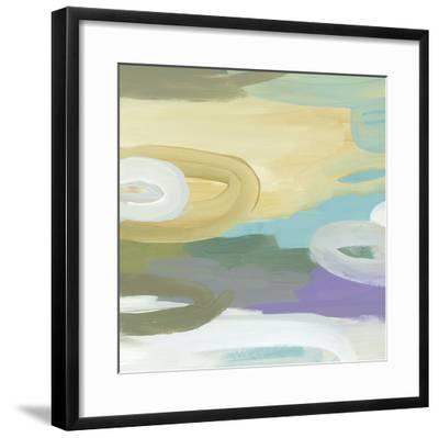 Silk Gem II-Cat Tesla-Framed Art Print
