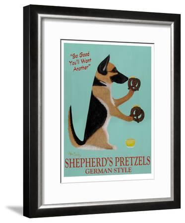 Shepherd's Pretzels-Ken Bailey-Framed Limited Edition