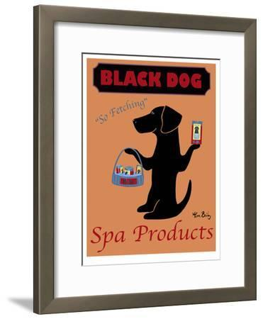 Black Dog Spa Products-Ken Bailey-Framed Limited Edition