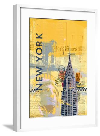 Cities I-Ken Hurd-Framed Art Print