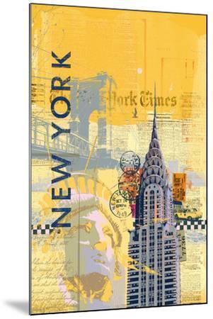 Cities I-Ken Hurd-Mounted Art Print