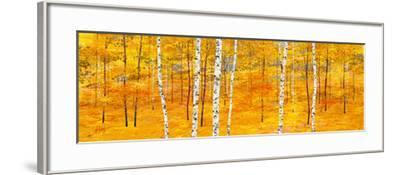 Iridescent Trees II-Alex Jawdokimov-Framed Art Print