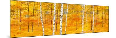 Iridescent Trees II-Alex Jawdokimov-Mounted Art Print