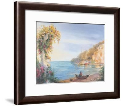 Mer 9--Framed Art Print